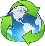 Earth Recycle Symbol