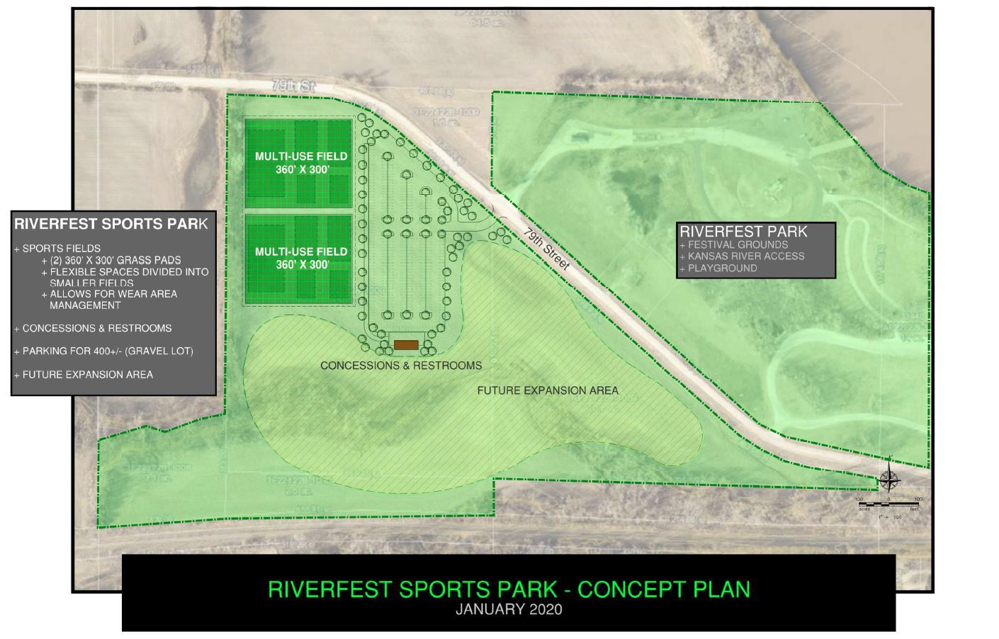 Sports Fields Concept Plan